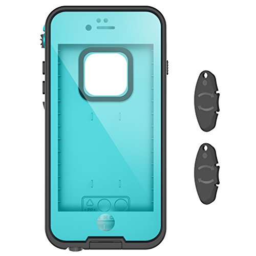 newest 242a4 3d5fd iPhone 6/6s waterproof case with 2 Case Openers, OUNNE IP68 Certified  Waterproof Shockproof Dustproof Cases Supports Touch ID With Underwater  Full ...