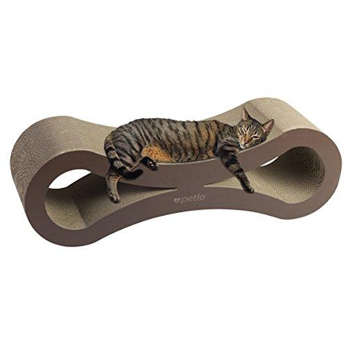 Petlo Jumbo Cat Scratching Cardboard Lounge Durable Reversible Pet