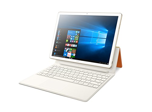 "Huawei MateBook E Signature Edition 12"" 2-in-1 Laptop Tablet, Office 365 Personal Included, 8+256 / Intel Core i5 / 2K Display, Portfolio Keyboard included (Champagne Gold)"