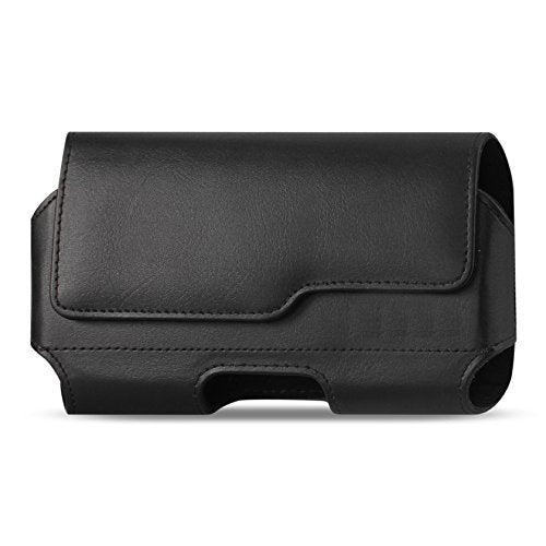100% authentic 02e96 2bfbf iPhone 8 iPhone 6S 7 Belt Case with Clip, Apple iPhone 8 Leather Belt Clip  Case Holster Pouch Sleeve Flip Cover Cell Phone Holder (For iPhone 7 iPhone  ...