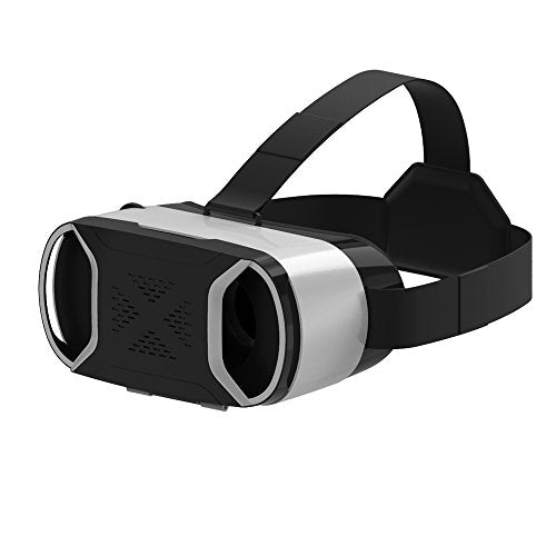 Vr Headset, VersionTech VRX05 4th Gen 3D Virtual Reality Glasses Goggles for Samsung Galaxy S8/ S7 Edge/S7/Note 4 iPhone 7 Plus/7/6 Plus/6/6S and Other Smartphone