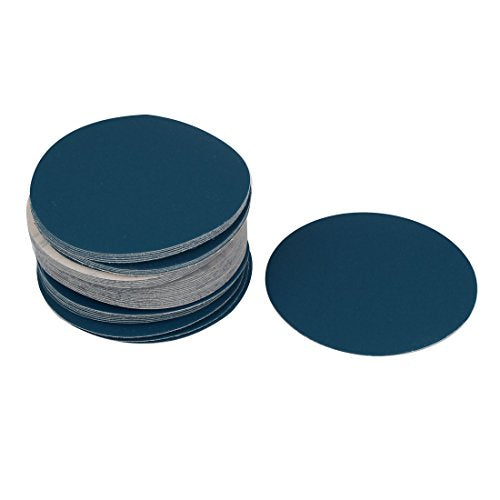 uxcell 5inch Flocking Sandpaper Auto Car Paint Polishing Sanding Disc 400 Grit 50pcs