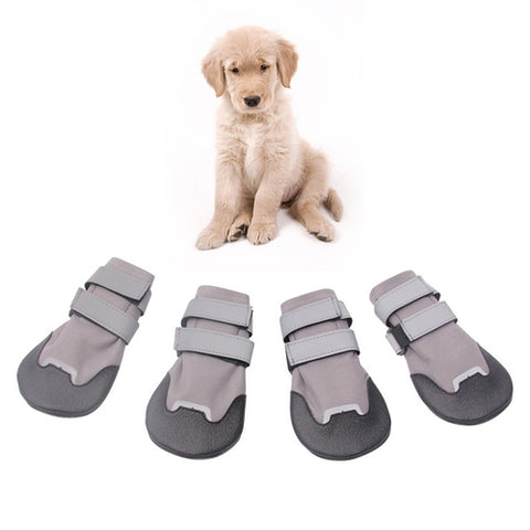 Waterproof Material Non-slip Dog Shoes Pet Cats