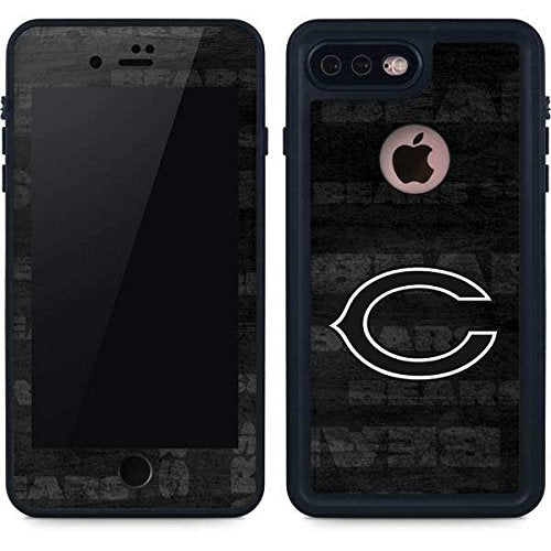new style 91d50 8087a Skinit NFL Chicago Bears iPhone 8 Plus Waterproof Case - Chicago Bears  Black & White Design - Sweat-Proof, Snow-Proof, Dirt-Proof, Dust-Proof  Phone ...