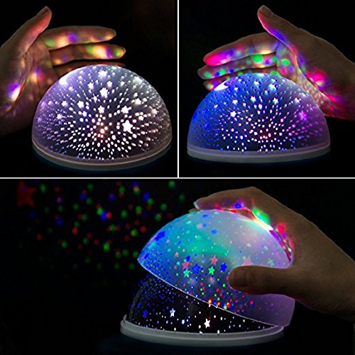 best baby night sky light projector for kids 360 degree rotation led keeboshop. Black Bedroom Furniture Sets. Home Design Ideas