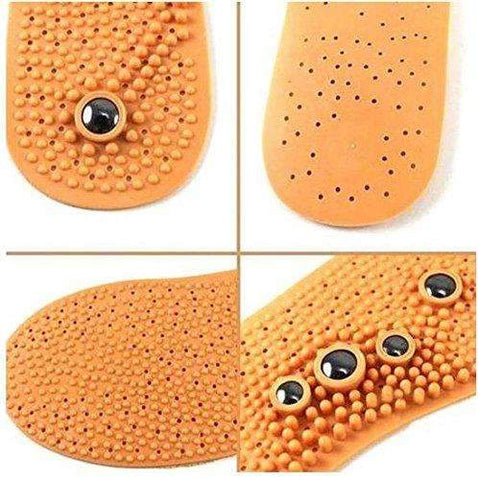 Magnetic Therapy Acupressure Foot Massage Shoe Insole Massager Insert Pad Health Care for Male by STCorps7
