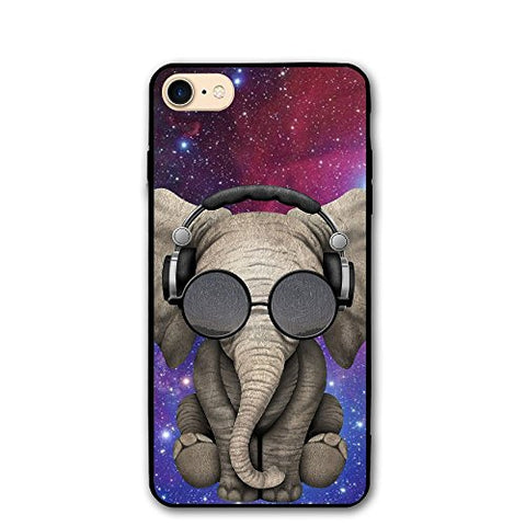 Celclin Elephant With Sunglasses IPhone 8 Case For Mens / Womens