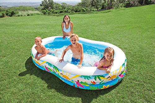 Kids Inflatable Pool This Small Portable Kiddie Blow Up Above Ground Swimming