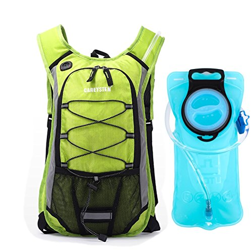 63fbe2e94 15L Cycling Backpack Biking Daypack with 2L Water Bladder for Men Women  Outdoor Running Cycling Bicycle