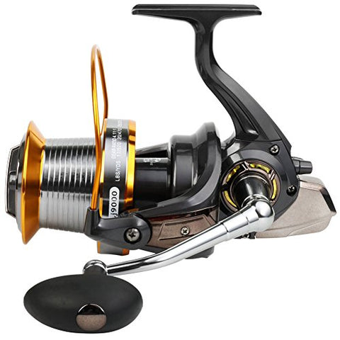 Burning Shark Spinning Fishing Reel for Bass Trout,Saltwater Fishing Reel Smooth Powerful