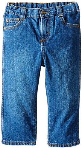 Wrangler Little Boys' Toddler Relaxed Straight Jean, Larado, 5T
