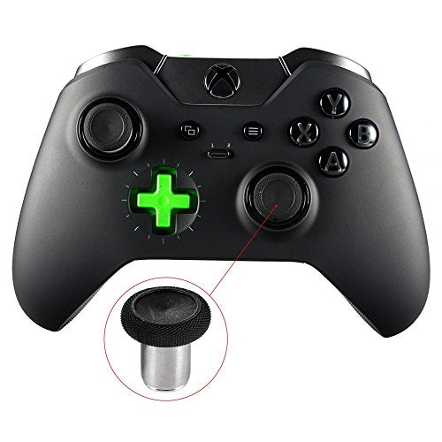 eXtremeRate 4 in 1 Metal Magnetic Thumbsticks Analogue Joysticks With T8H Cross Screwdrivers Replacement Repair Kits for Xbox One S Elite PS4 Slim Pro Nintendo Switch Pro Controller Black