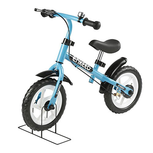 16cdd7f974e Enkeeo No Pedal Balance Bike 12 inch Cycling Walking Bicycle with Bell and  Hand Brake for