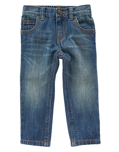 Crazy 8 Toddler Boys' Medium Wash Rocker Fit Jeans, Medium Wash, 3 Years