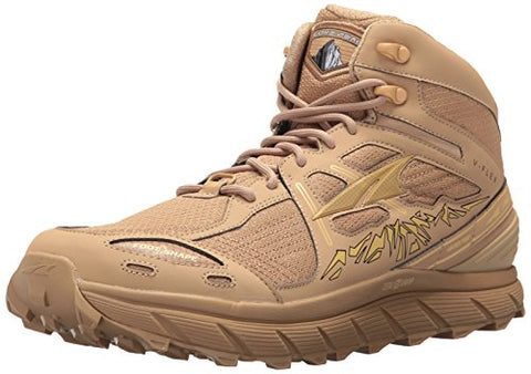 Altra Lone Peak 3.5 Mid Mesh Men's Trail Running Shoe | Hiking, Fastpacking, Trail Running | Zero Drop Platform, FootShape Toe Box, Rock Protection Plate | Ready for Anything