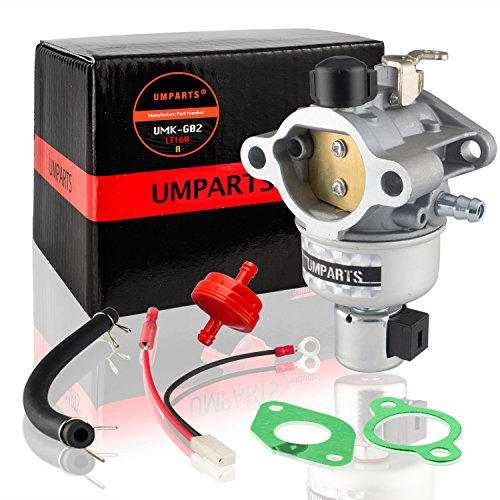 UMPARTS UMK-G02 Carburetor Fuel Filter Gasket Kit For Kohler CV460S Engine, John Deere GT225 LX255 LX266 LT160 AM132199 AM132033 Lawnmower Lawn Tractor
