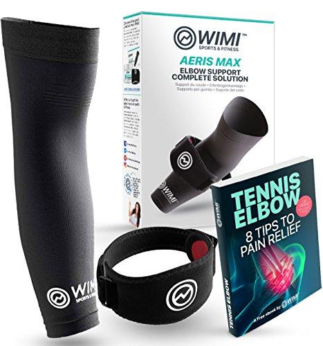 Wimi Sports Fitness 1 Tennis Elbow Brace 1 Copper Compression