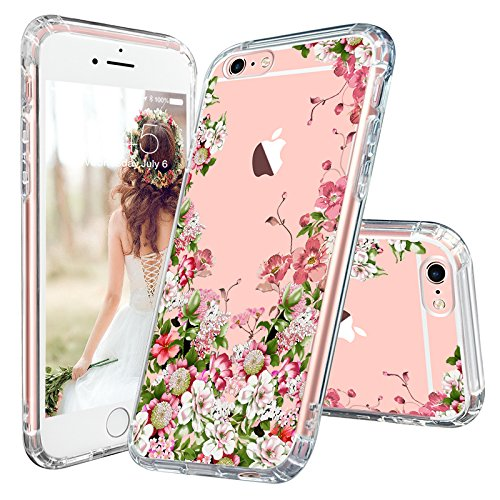 Iphone 6s Case Iphone 6 Clear Case Mosnovo Floral Printed Flower