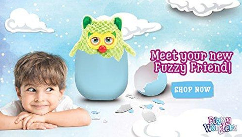 Fuzzy Wonderz - Magical Hatching Animal Toy - Hatch Your Own Furry Interactive Friend - Boy