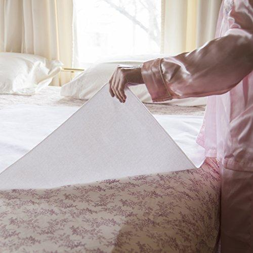 Incontinence Bed Pads Washable Waterproof   Sheet And Mattress Protector:  Cotton Flannel Sheets   Machine