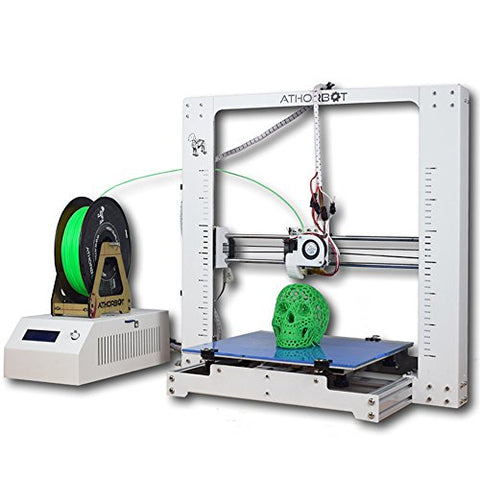 Athorbot Desktop 3D Printer ABS PLA Nylon Filament Large Printing Size 11.8''x11.8''x11.8'' Brother (11.8''x11.8''x11.8'')