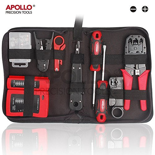 19 Piece Professional Network, Computer Maintenance & Repair Tool Kit