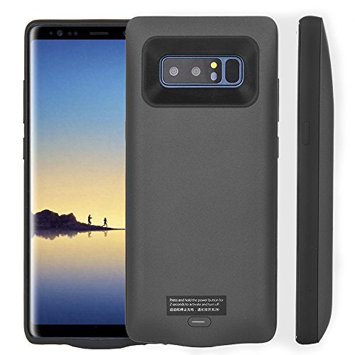 huge discount 613c0 6cc5a CXCase Galaxy Note 8 Battery Case, 5500mAh Ultra Slim Extended Battery  Backup Charging Case Charger Pack Power Bank for Samsung Galaxy Note 8 -  Black