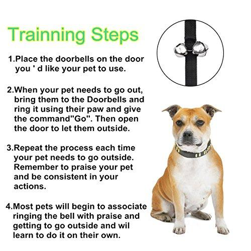 Pet Dog Training Dog Doorbell Ropepotty Doorbells For Dog And Cats