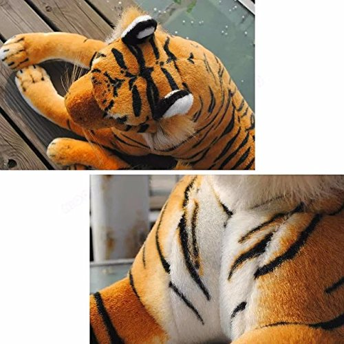 Katedy Stuffed Animal Tiger Plush Toy For Baby Kids Adults Cute Cat