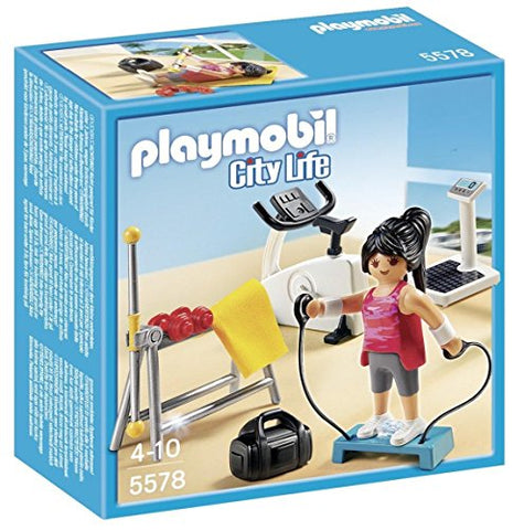PLAYMOBIL® Fitness Room Play Set