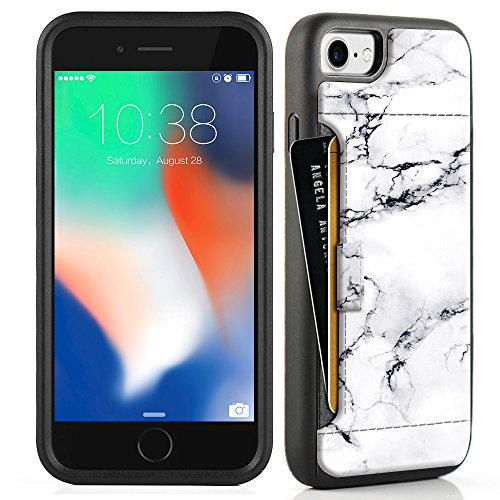 iphone 7 marble wallet case