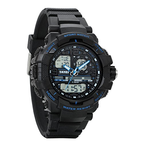 Kids Digital Sport Watch - Outdoor Waterproof Watch with Alarm for Boys,  Wrist Watches with Timer