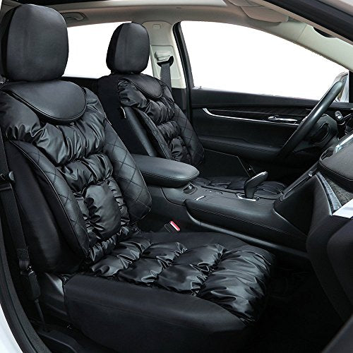 Big Ant Seat Covers Comfortable Car Leatherette Waterproof Full Set Front Back Cover