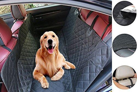 Racheljp Pet Seat Cover Dog Car Covers Back Seat Mat Waterproof Truck SUV Car Dog Hammock Bed