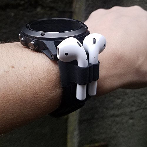 AirPods Watch Band Holder and Skins | Apple Airpod Holder for Exercise –  Safely Secure Your AirPods On Your Wrist Strap with The Bander While  Working
