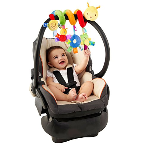Leorx Spiral Toy Stroller Bed Hanging Toys Baby Car Seat