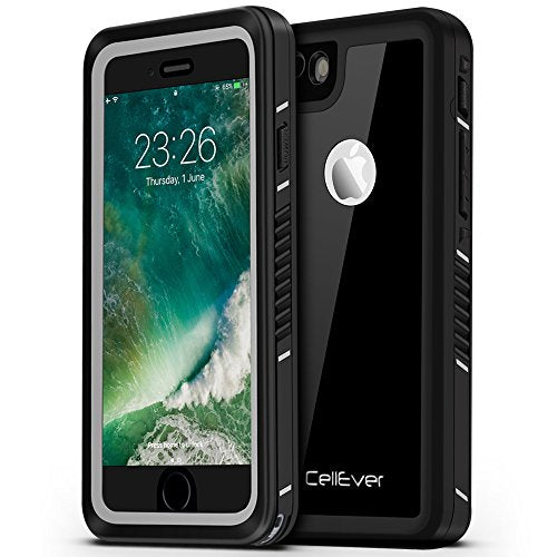 finest selection a128e dcbab CellEver iPhone 6 / 6s Case Waterproof Shockproof IP68 Certified SandProof  SnowProof Full Body Protective Cover Fits Apple iPhone 6 and iPhone 6s ...