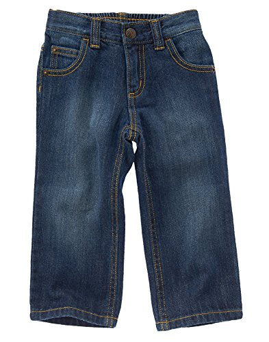 Crazy 8 Toddler Boys' Toddler Dark Wash Straight Fit Jeans, Dark Wash, 4 Years