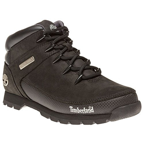 Timberland EURO Sprint Black Mens Boots Size 10.5 UK