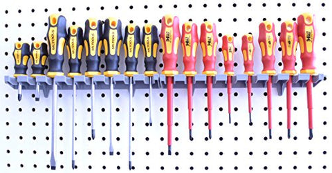Screwdriver Organizer | MLTOOLS 8 Tool V-Slot Screwdriver Organizer | Made in USA | VS8226 x 2