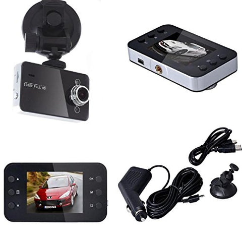 ZIYUO Car Dash camera LCD Full HD 1080P Car DVR Vehicle Camera Video Recorder 2.7inch