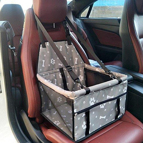 Pet Dog Car Seat Booster Carrier Protector Bag Cage Cover Travel Portable Waterproof Folding