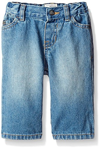 The Children's Place Little Boys and Toddler Bootcut Jean, Light Stone, 3T