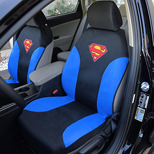 DC Comics Superman Car Seat Covers