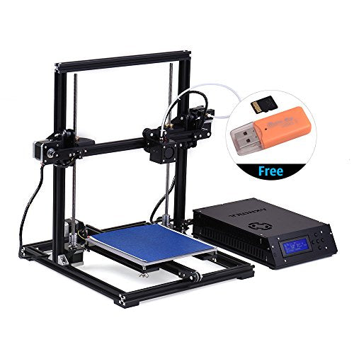 TRONXY 3D Printer Kit DIY Self Assembly Auto Leveling with 8GB Memory Card USB Interface 1 Roll PLA Filament