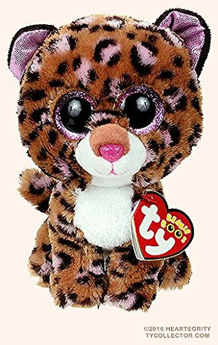 New Ty Beanie Boos Cute Patches The Leopard Plush Toys 6 15cm Ty