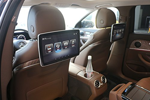 Mercedes E/C/GLC class/S400/V260 2017-2018 car back seat lcd screen 11.6 inch android 6.0 speaker 1366x768 resolution Bluetooth wifi 3g dongle IPS touch screen 12V SD USB car monitor