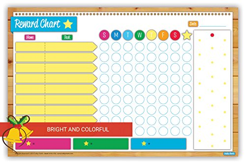 2018 Magnetic Reward And Chore Chart Flexible Dry Erase Board