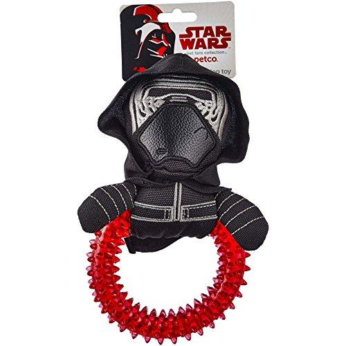 Star Wars TPR Ring Plush Dog Toy, Small (Kylo Ren)