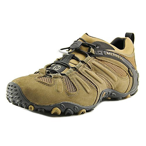 Merrell Men's Chameleon Prime Stretch Waterproof Hiking Shoe,Canteen/Brown,8.5 M US